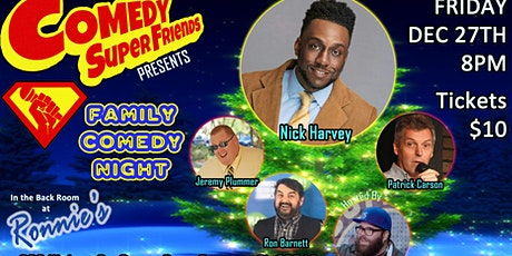 COMEDY SUPER FRIENDS w/ NICK HARVEY tickets