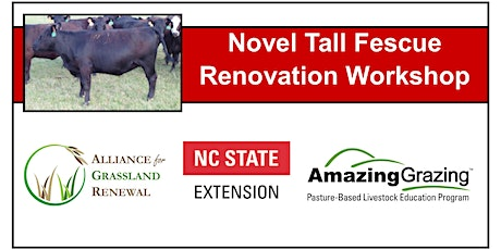 North Carolina Novel Tall Fescue Renovation Workshop 2020 tickets