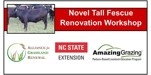 North Carolina Novel Tall Fescue Renovation Workshop 2020