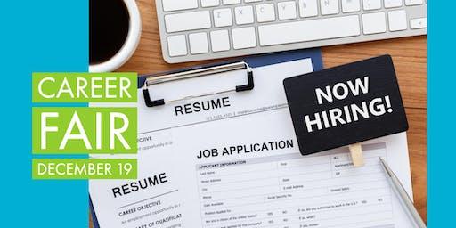 Get a Job for the NEW YEAR! December Job Fair