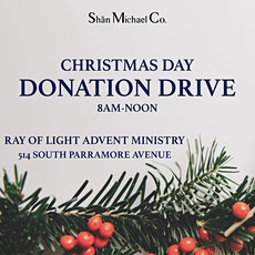 CHRISTMAS DAY DONATION DRIVE! tickets