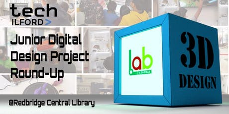 Tech Ilford Junior Digital Design Project Round-Up, 10-15 yrs tickets