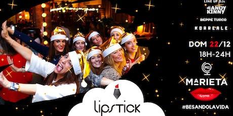 Lipstick Exclusive X-Mas @Marieta con catering gratuito tickets