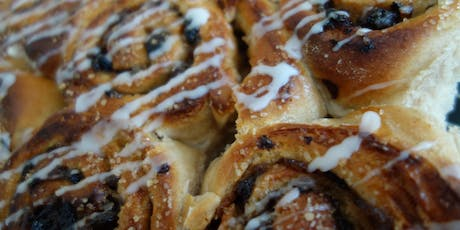 Cinnamon whirls, muffins and crumpets (Breakfast Breads) tickets