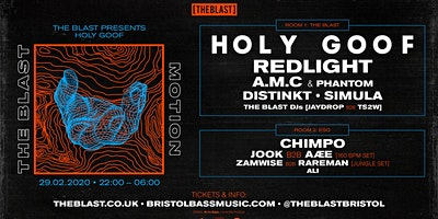 The Blast presents // Holy Goof + more