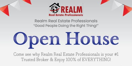 Realm Real Estate Professionals (Galleria) Open House  tickets