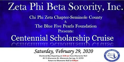 Centennial Scholarship Cruise