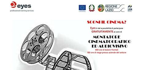 Corso Produttore esecutivo cinematografico e audiovisivo biglietti