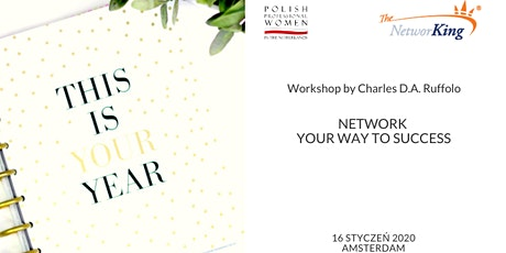 Network your way to success - workshop and New Year's drinks tickets