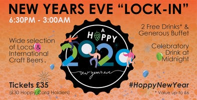 A HOPPY NEW YEAR: Lock-In at A Hoppy Place