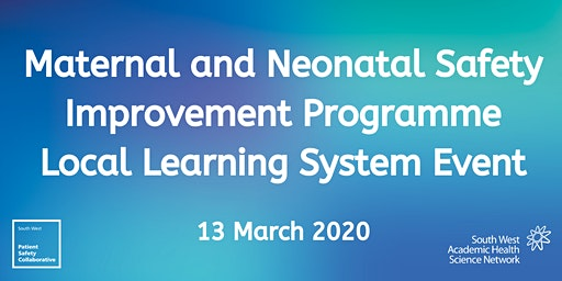 Maternal & Neonatal Safety Improvement Programme LLS8