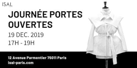 JPO DECEMBRE 2019 ISAL PARIS billets