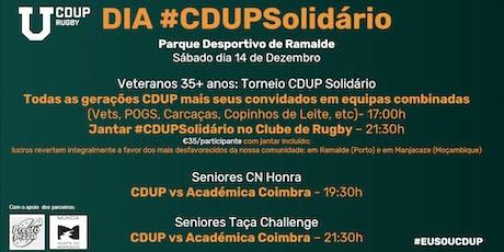 Torneio CDUP Solidário 2019 bilhetes