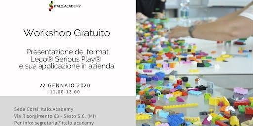 Presentazione del format Lego® Serious Play®  e sua applicazione in azienda