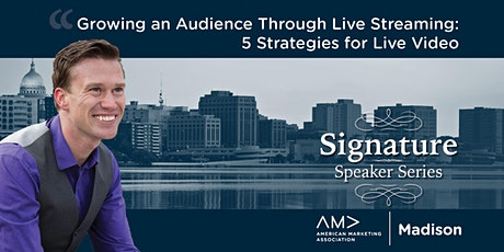 Growing an Audience Through Live Streaming: 5 Strategies for Live Video tickets