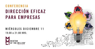 Conferencia: Dirección Eficaz para Empresas