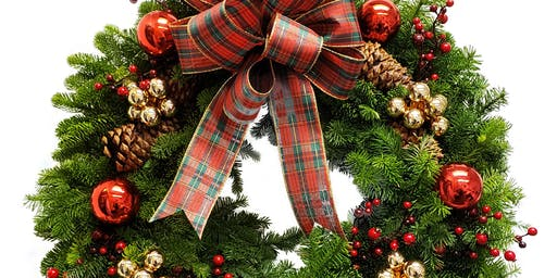 Season's Greetings Wreath Design Class!