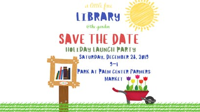 Little Free Library @ The Garden Holiday Launch Party tickets