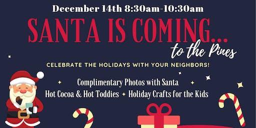 Santa in the Pines (Santa will be at Winter Pines Golf Club)