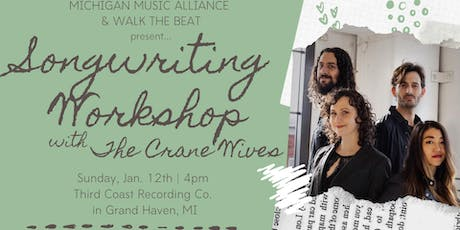 Songwriting Workshop w/The Crane Wives tickets
