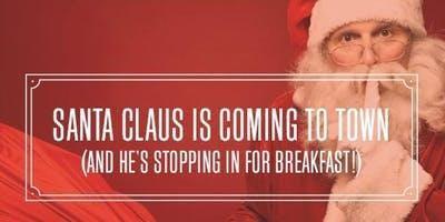 Breakfast with Santa Saturday, December 14th 2019
