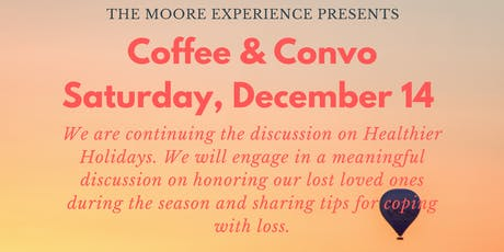 Coffee & Convo tickets