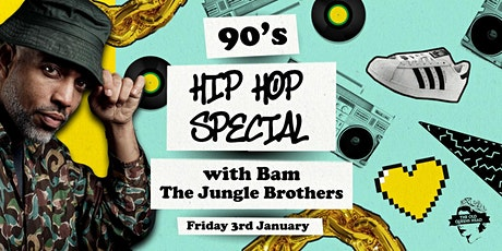 90s Hip-Hop Special with Bam (The Jungle Brothers) tickets