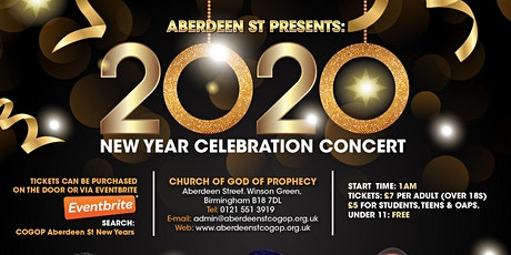 COGOP Aberdeen St New Years Celebration 2020 tickets