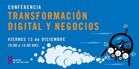 Conferencia: Transformación Digital y Negocios en Puebla boletos