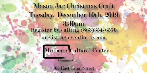 ArtCycle: Mason Jar Christmas Craft