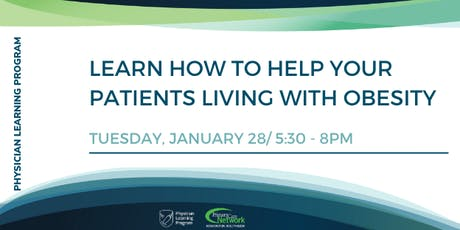 Learn How to Help your Patients Living with Obesity tickets