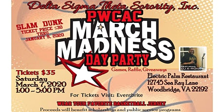 PWCAC-DST March Madness Day Party 2020 tickets