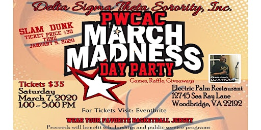 PWCAC-DST March Madness Day Party 2020