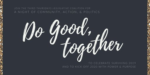 Do Good, Together: A Night of Community, Action, & Politics