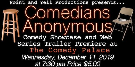 Comedians Anonymous tickets