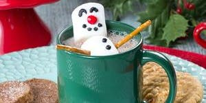 Mommy Meet Up & Hot Chocolate snowmen and Story time