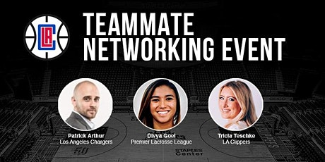 2019 Los Angeles Clippers Teammate Networking Event tickets