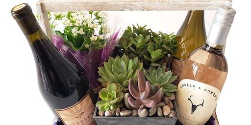 Wine Tasting with Cactus Flower!