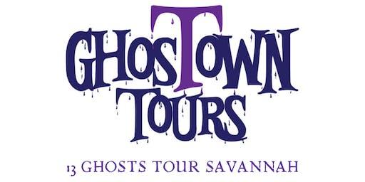 13 Ghosts Haunted Tour Savannah