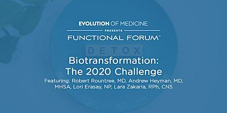 Functional Forum Meetup: Biotransformation Challenge for 2020 tickets