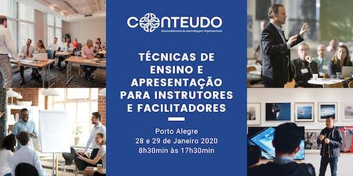 Técnicas de Ensino e Apresentação para Instrutores e Facilitadores