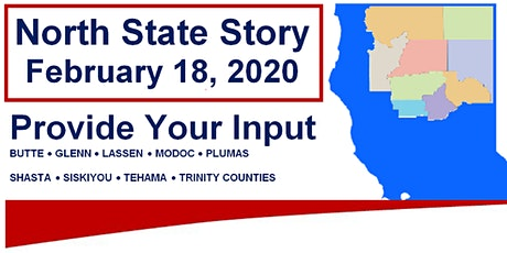 North State Story - California OIDD  Input  Session tickets