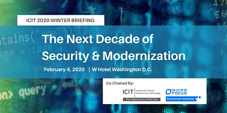 The Next Decade of Security & Modernization tickets
