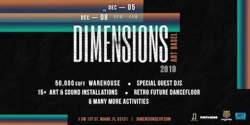 Dimensions Experience (Art Basel Week)