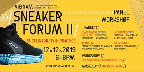 Sneaker Forum II: Sustainability in Practice tickets