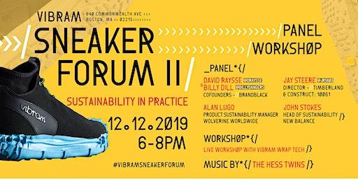 Sneaker Forum II: Sustainability in Practice