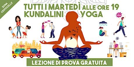 Kundalini Yoga a Centocelle biglietti