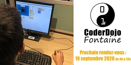 CoderDojo Fontaine - 19/09/2020 billets