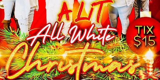 A LIT ALL WHITE CHRISTMAS