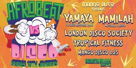 Afrobeat vs. Disco tickets